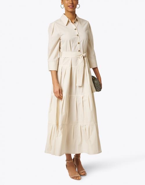 Marc Cain - Sand Stretch Cotton Shirt Dress
