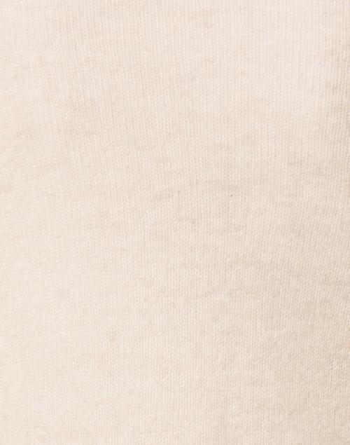 White + Warren - Wheat Heather Essential Cashmere Cardigan
