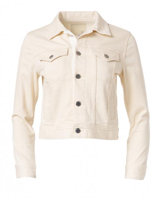AG Jeans - Jade Ecru Cropped Denim Jacket