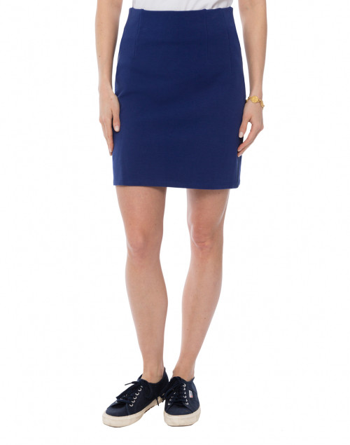 Hedge - Tatum Navy Tea Skirt