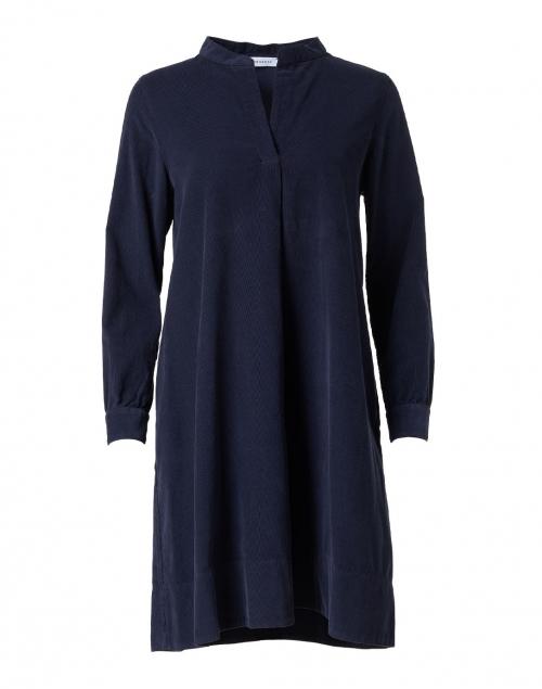 Rosso35 - Navy Corduroy Dress
