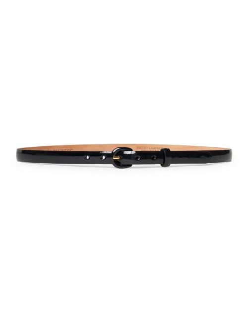 W. Kleinberg - Black Patent Leather Belt