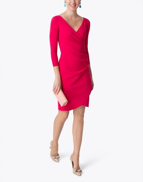Chiara Boni La Petite Robe - Emerentienne Raspberry Stretch Jersey Dress