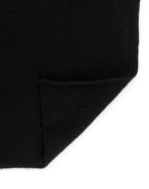 White + Warren - Black Cashmere Mini Travel Wrap