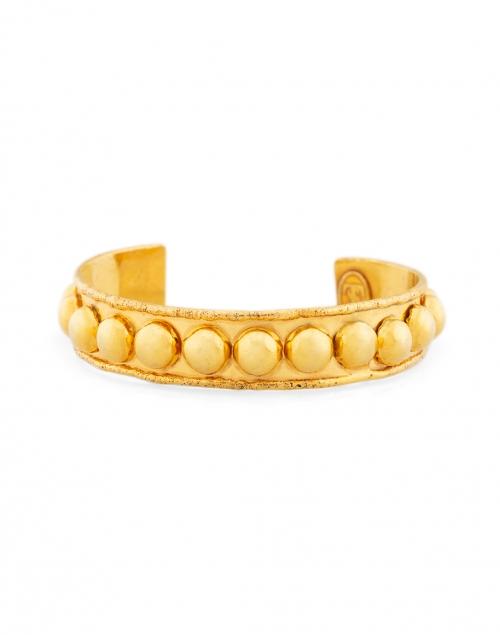 Sylvia Toledano Gold Studded Small Cuff Bracelet