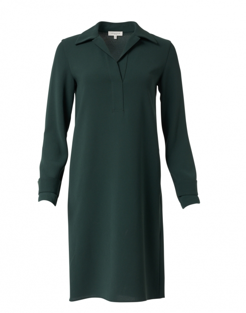 Lafayette 148 New York - Graceton Dark Green Crepe Dress