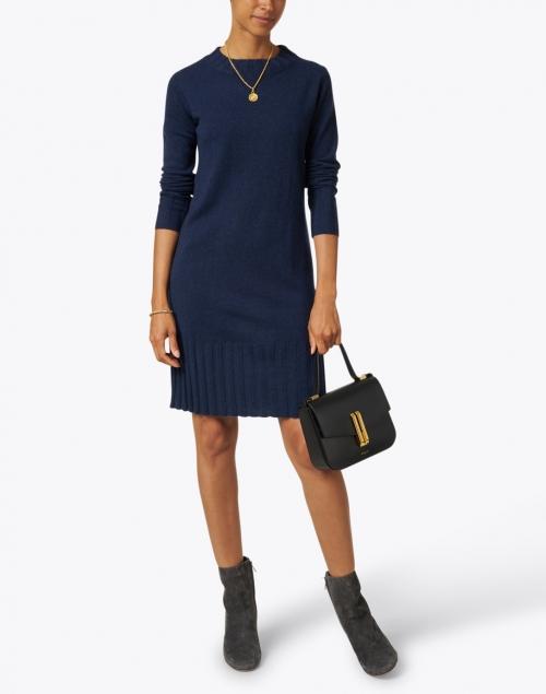 Kinross - Navy Cashmere Dress