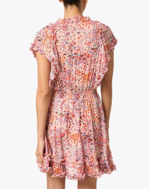 Poupette St Barth - Amber Pink Murrina Print Dress