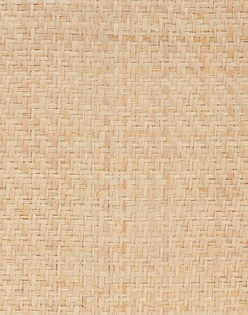 Kayu - Arianne Natural Geometric Straw Clutch