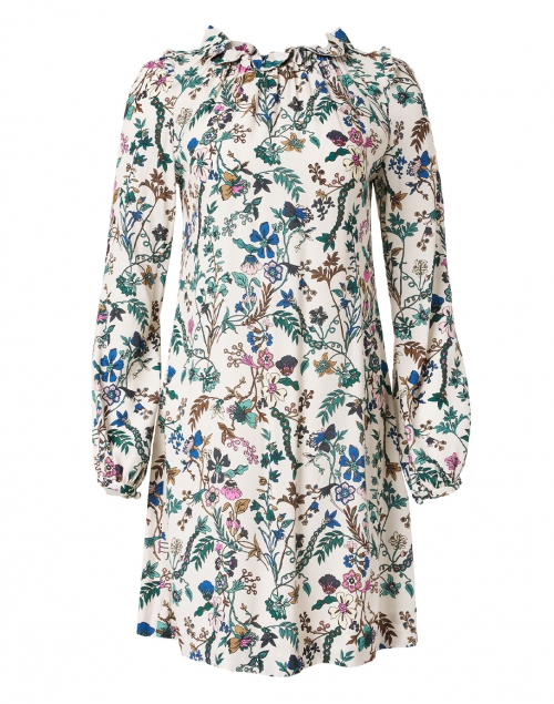 Jane - Mable Pink Floral Garden Printed Dress