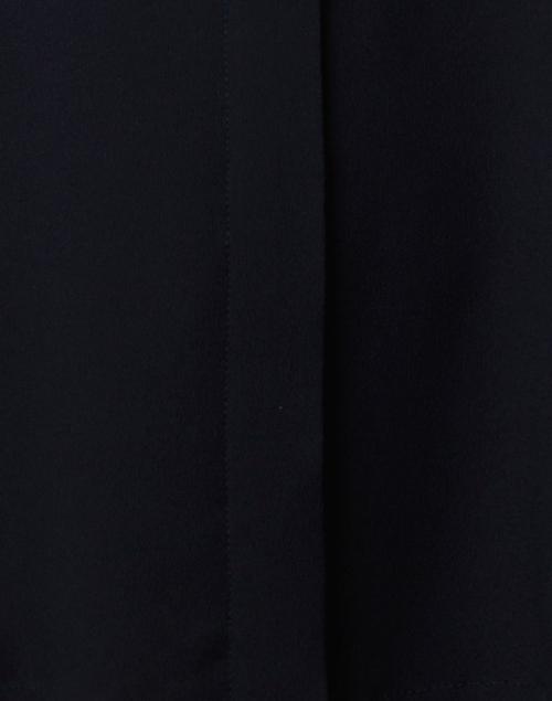 Seventy - Navy Silk Crepe Shirt