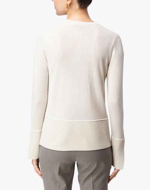 Seventy - Ivory Ribbed Sweater
