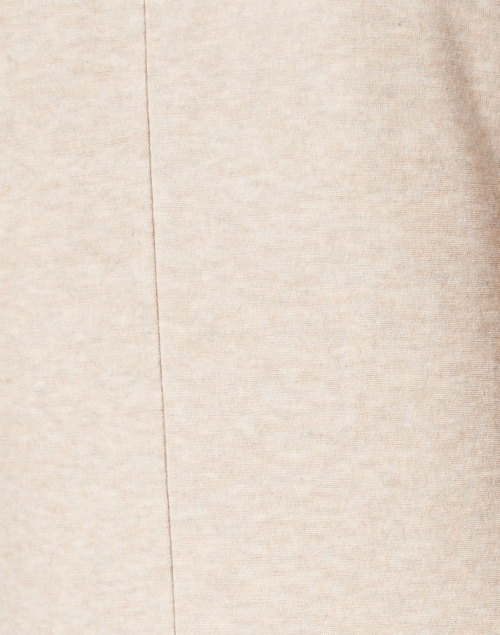 Vince - Light Beige Stretch Tencel Knit Top