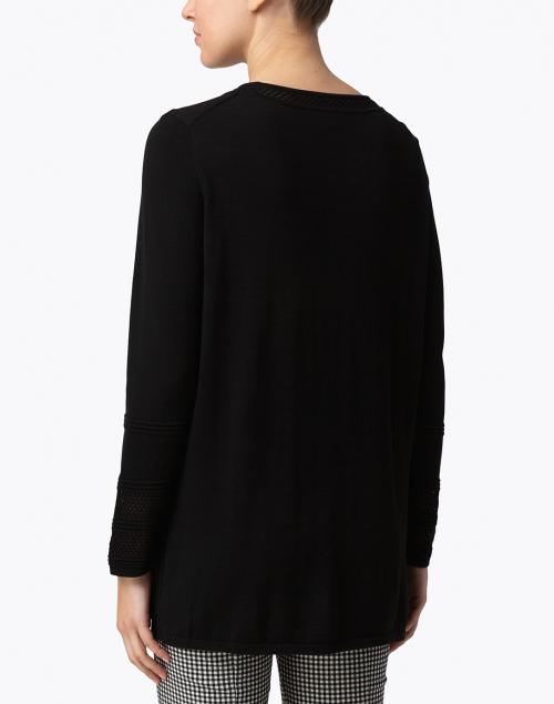 Belford - Black Cotton Tunic Sweater
