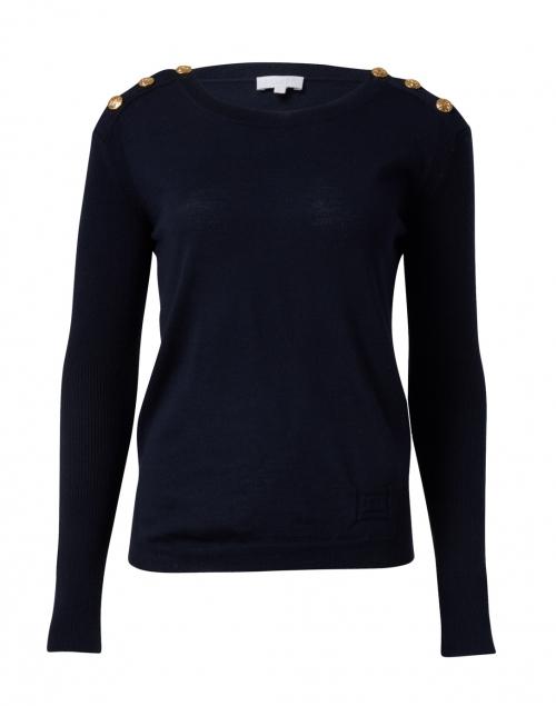 Escada Sport - Sudachi Navy Wool Knit Top