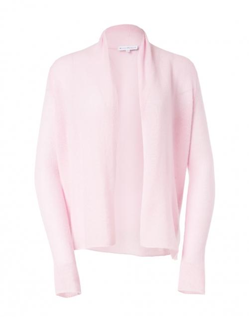 White + Warren Confection Pink Essential Cashmere Cardigan