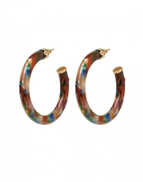 Gas Bijoux - Multicolored Resin Hoop Earrings