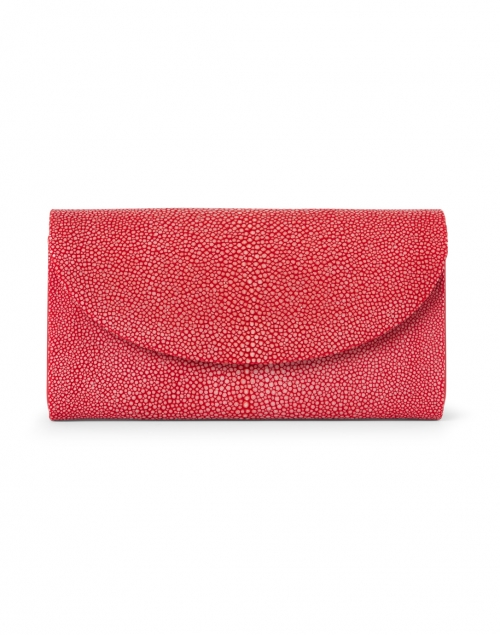 J Markell - Baby Grande Cherry Red Stingray Clutch