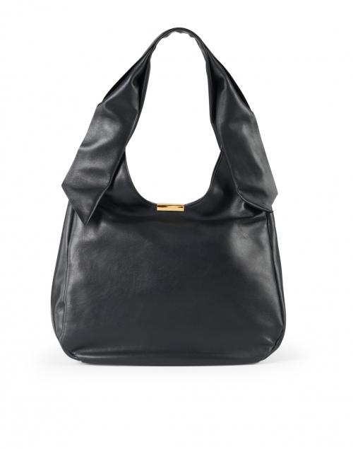 DeMellier - Milan Black Smooth Leather Shoulder Bag