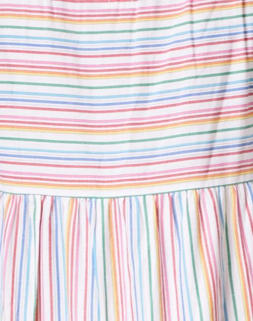 Warm - Rainbow Stripe Cotton Dress
