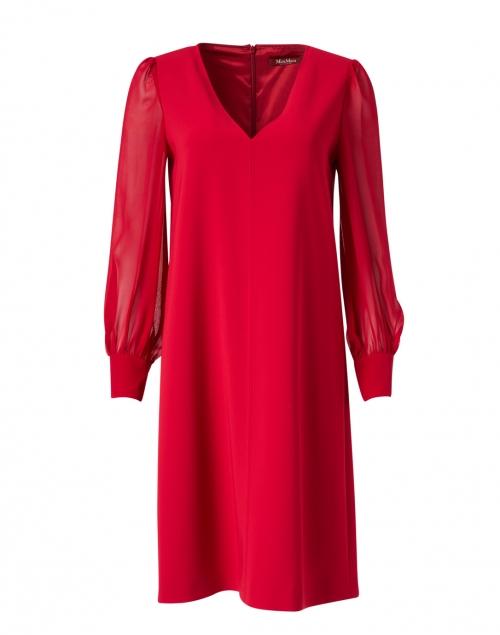 Max Mara Studio Baccano Red Shift Dress