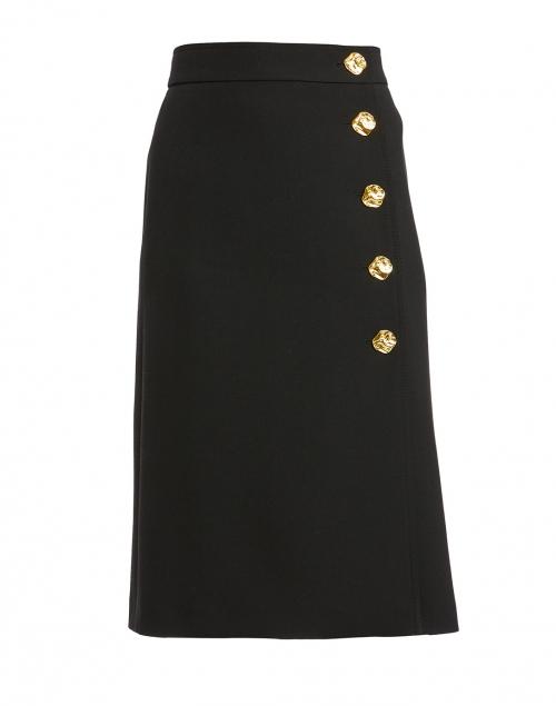 Escada - Remma Black Wool Skirt