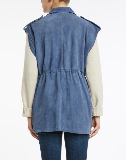 Recreo San Miguel - Margot French Blue Suede Vest