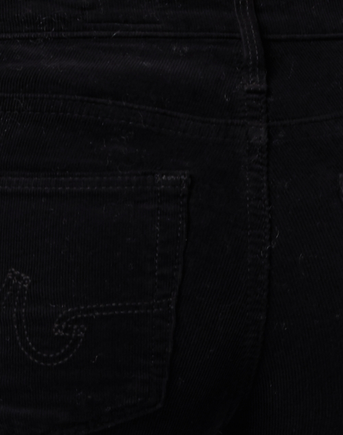 AG Jeans - Prima Black Corduroy Cigarette Leg Jean