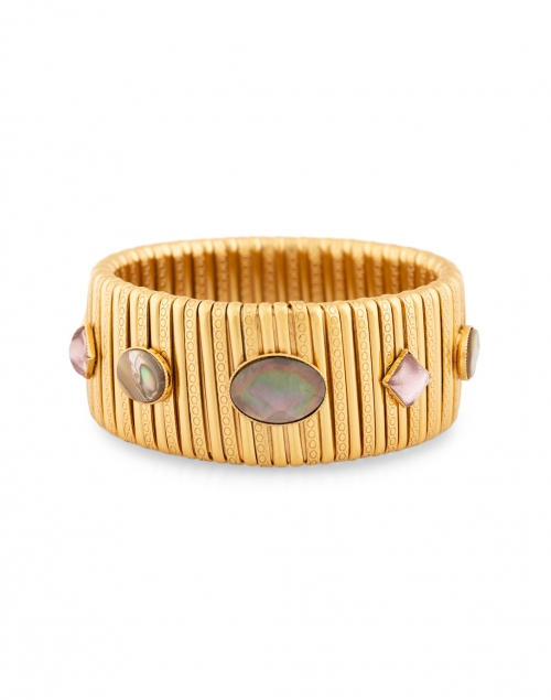 Gas Bijoux - Strada Labradorite Gold Large Bracelet