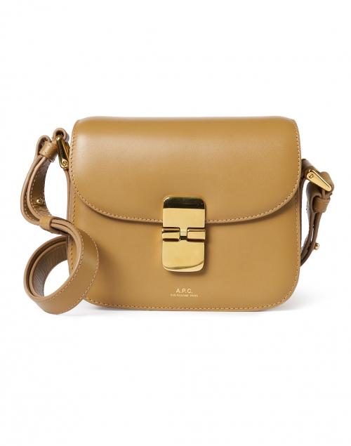 A.P.C. Grace Sand Leather Crossbody Bag