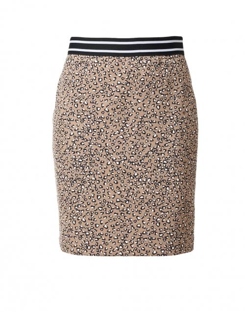 Marc Cain Sports - Beige Animal Print Stretch Skirt