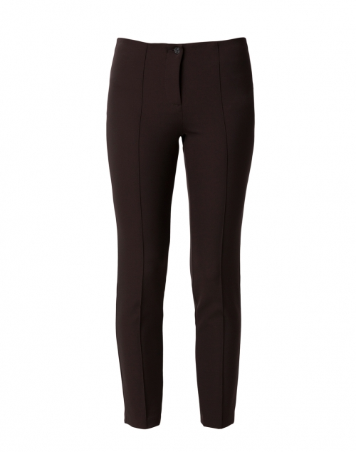Cambio Ros Chocolate Brown Techno Stretch Pant