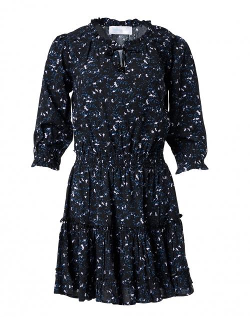 Walker & Wade - Ibiza Black Wildflower Printed Dress