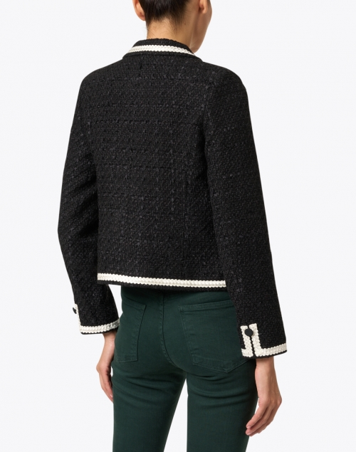 Weill - Maory Black and Ivory Tweed Jacket