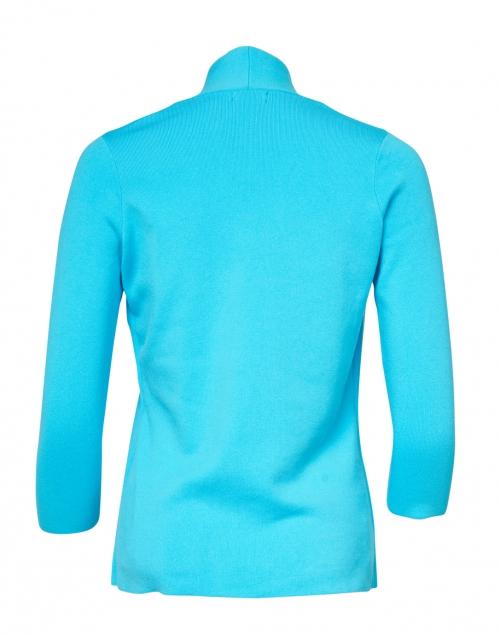 J'Envie - Caribbean Blue Stretch Cardigan Top