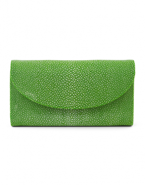 J Markell Baby Grande Spring Green Stingray Clutch
