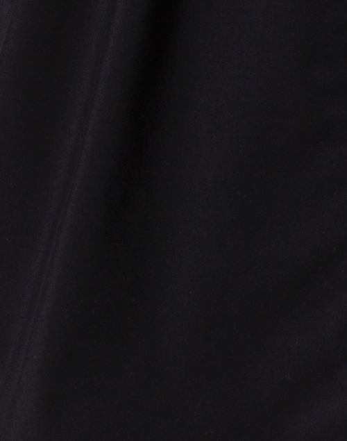 Finley - Crosby Black Silky Poplin Top