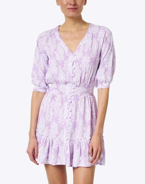 Walker & Wade - Kelsey Lavender Floral Print Dress