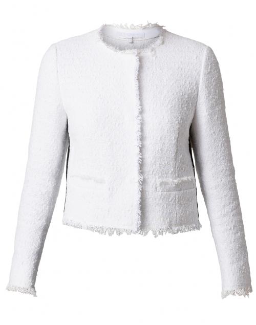 Escada Sport - Bylla Off-White Cotton Fringed Jacket
