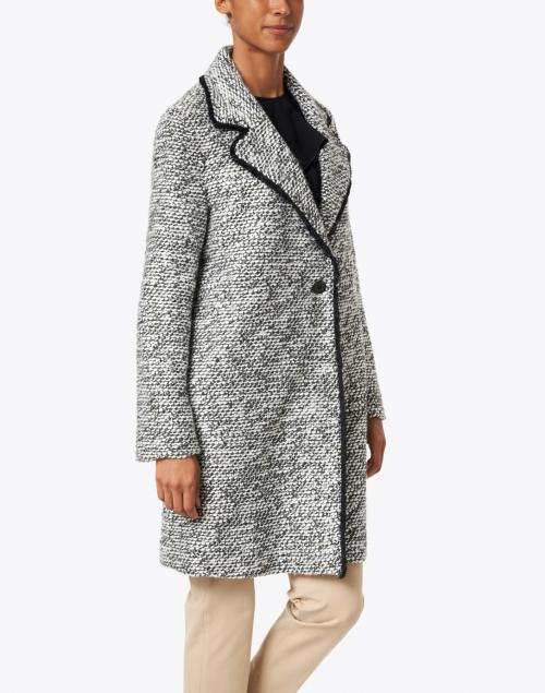 Helene Berman - Black and White Tweed Coat
