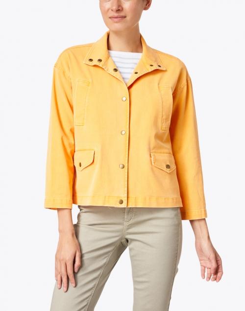Elliott Lauren - Orange Stretch Cotton Jacket