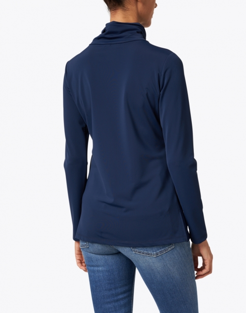 Jude Connally - Ashley Navy Zip Up Top