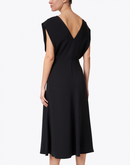 Joseph - Delannoy Black Cape Dress