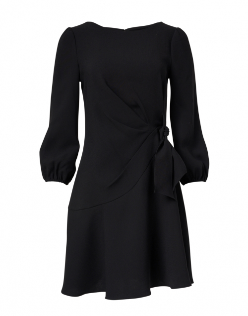 Shoshanna - Abbey Black Stretch Crepe Dress