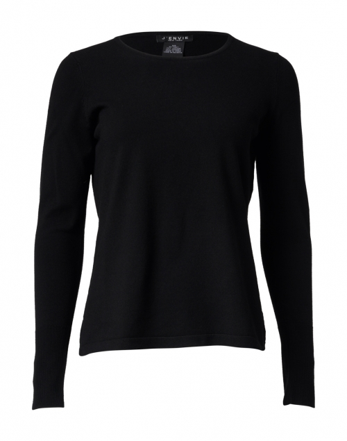 J'Envie - Black Viscose Sweater