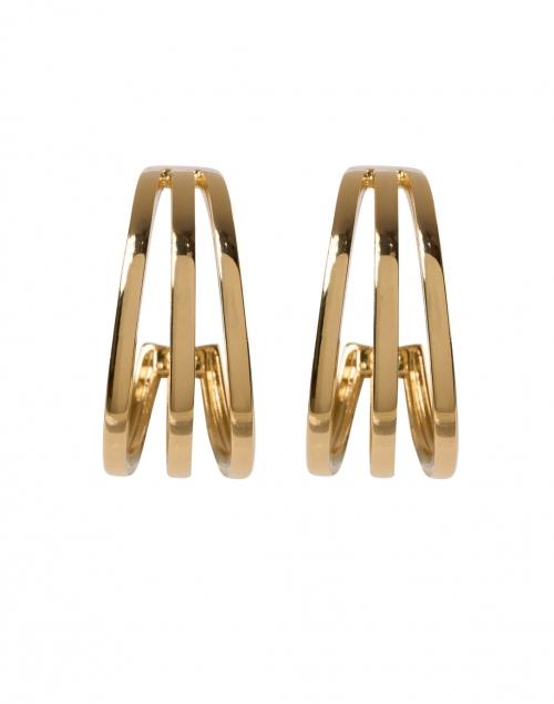 Gas Bijoux - Cerceau Gold Multi Strand Hoop Earrings