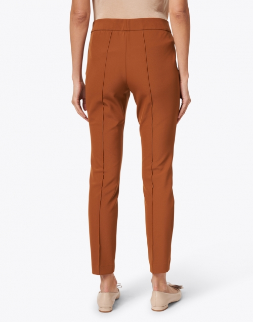 Lafayette 148 New York - Gramercy Cappuccino Stretch Pintuck Pant
