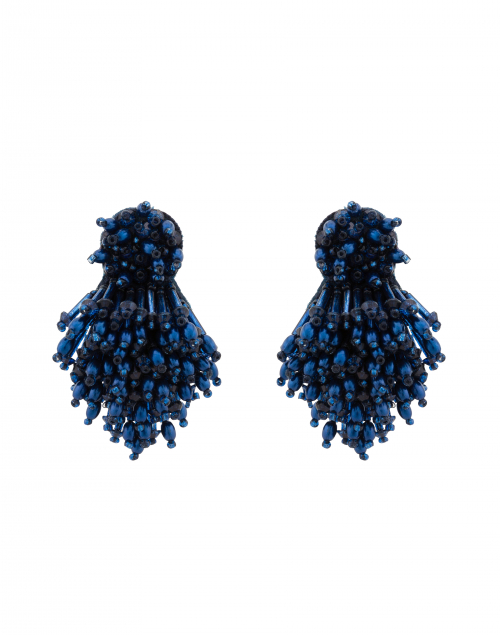 Mignonne Gavigan - Navy Burst Clip Earrings