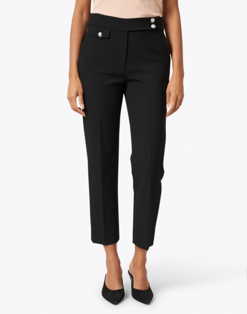 Veronica Beard - Renzo Black Stretch Essential Pant