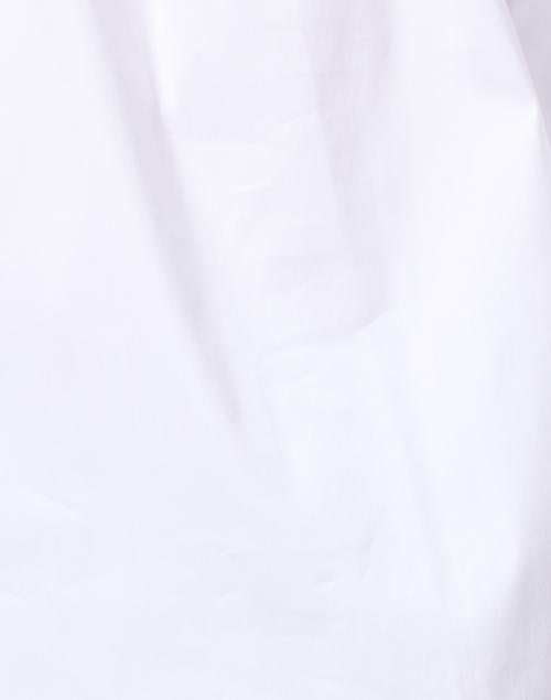 Dovima Paris - Wren White Stretch Cotton Shirt